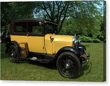 1928-29 Ford Model A Sedan Canvas Print