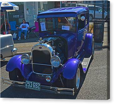 Canvas Print featuring the photograph 1929 Ford Model A by Tikvah's Hope