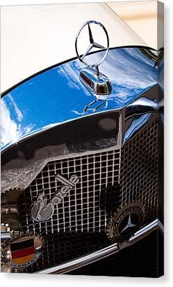 1929 Mercedes Ssk Gazelle Roadster Canvas Print by David Patterson