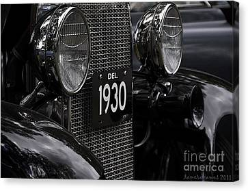 Canvas Print featuring the photograph 1930 by Tamera James