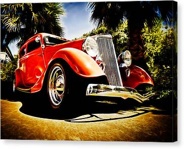 1930s Ford Tudor Canvas Print by Phil 'motography' Clark