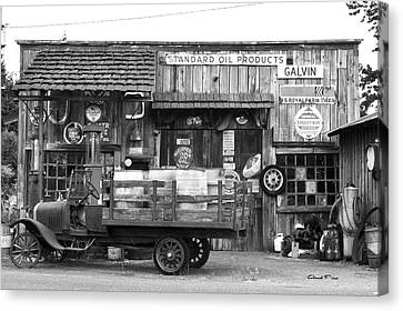 1930's Gas Station Canvas Print