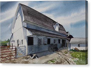 1931 Barn Canvas Print