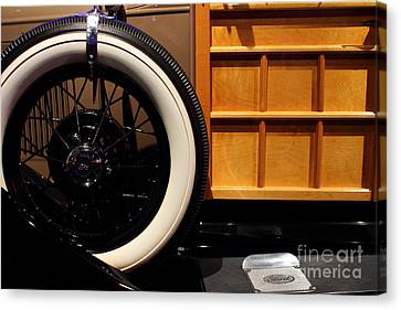 1931 Ford Model A Station Wagon - 7d17491 Canvas Print by Wingsdomain Art and Photography