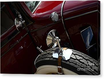 1932 Chevrolet Detail Canvas Print by Bob Christopher