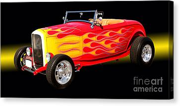 1932 Ford Hotrod Canvas Print by Jim Carrell