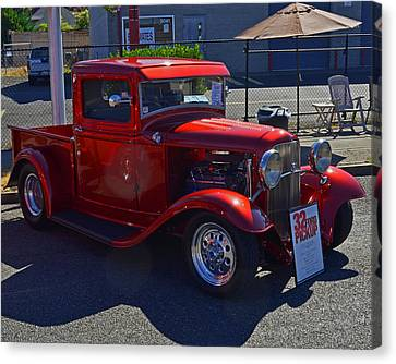 Canvas Print featuring the photograph 1932 Ford Pick Up by Tikvah's Hope