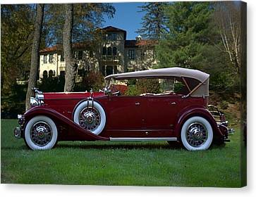 1932 Packard 903 Deluxe Eight Sport Phaeton Canvas Print by Tim McCullough