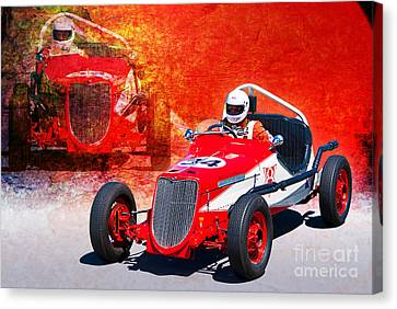 1934 Ford Indy Special Canvas Print by Stuart Row