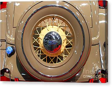 1934 Ford Model 40 Deluxe Cabriolet . 7d9357 Canvas Print by Wingsdomain Art and Photography