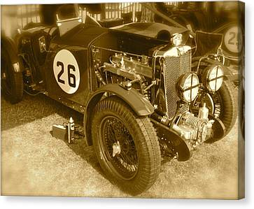 Canvas Print featuring the photograph 1934 Mg N-type by John Colley