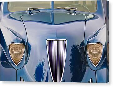 1935 Hoffman X-8 Sedan Front View Canvas Print by Jill Reger
