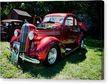 1936 Dodge Canvas Print by Paul Barkevich