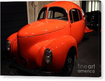 1937 Airomobile . 7d17314 Canvas Print by Wingsdomain Art and Photography
