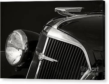 1937 Chevy Canvas Print by Dennis Hedberg