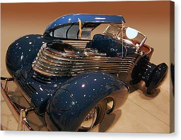 Canvas Print featuring the photograph 1937 Kurtis Tommy Lee Special by Bill Dutting