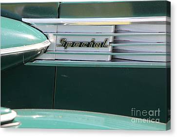 1938 Buick Special . 5d16226 Canvas Print by Wingsdomain Art and Photography