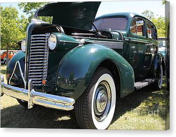 1938 Buick Special . 5d16227 Canvas Print by Wingsdomain Art and Photography