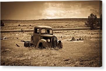 1938 Ford Pickup Canvas Print by Steve McKinzie