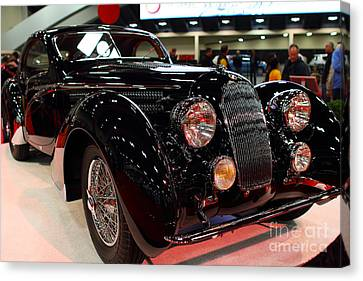 1938 Talbot Lago T150-c Speciale Teardrop Coupe . 7d9307 Canvas Print by Wingsdomain Art and Photography