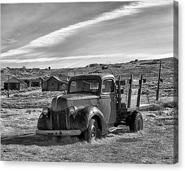 1939 Ford Truck Bodie Ca Canvas Print by Troy Montemayor