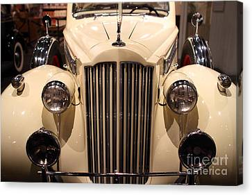 1939 Packard Super Eight Phaeton - 7d17407 Canvas Print by Wingsdomain Art and Photography