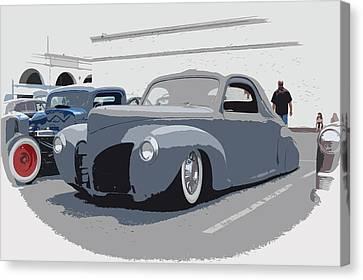 1940 Lincoln Canvas Print by Steve McKinzie