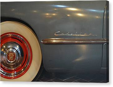 1942 Cadillac - Series 62 Sedanette Fastback Canvas Print by Michelle Calkins