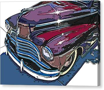 1946 Chevrolet Front Study Canvas Print by Samuel Sheats