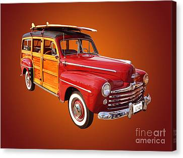 1947 Woody Canvas Print