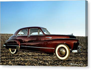 1948 Buick Eight Super Canvas Print by Bill Cannon