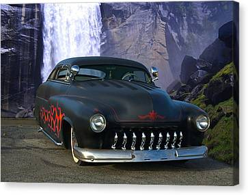 1949 Mercury Low Rider Canvas Print by Tim McCullough