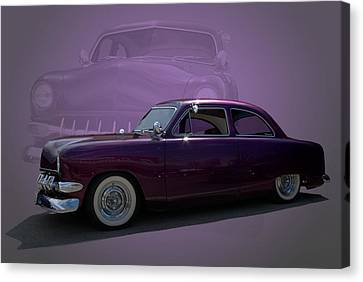 1950 Custom Ford Street Rod Canvas Print by Tim McCullough