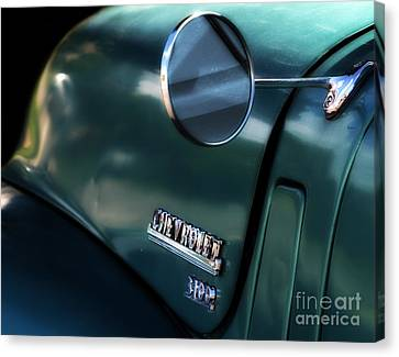 1950s Chevy 3100 Pickup Truck Canvas Print by Steven Digman