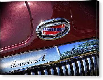Canvas Print featuring the photograph 1951 Buick Eight by Gordon Dean II
