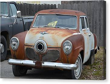 1951 Studebaker Canvas Print by Randy J Heath