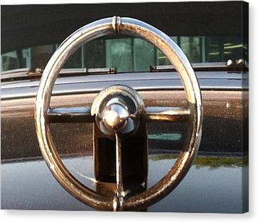 Canvas Print featuring the photograph 1952 Buick by Elizabeth Coats