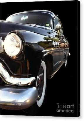 Canvas Print featuring the photograph 1952 Buick Side View by Elizabeth Coats