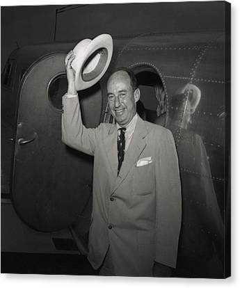 1952 Presidential Nominee Adlai Canvas Print by Everett