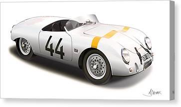 1953 Porsche Glockler Canvas Print by Alain Jamar