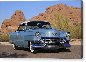 1954 Cadillac Coupe Deville Canvas Print by Jill Reger