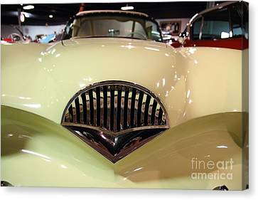 1954 Kaiser Darrin Grille View Canvas Print by Wingsdomain Art and Photography