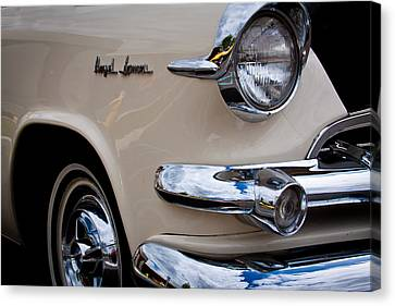 1955 Dodge Royal Lancer Sedan Canvas Print by David Patterson