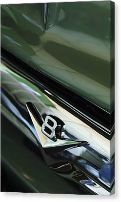 1956 Ford F-100 Truck Emblem 3 Canvas Print