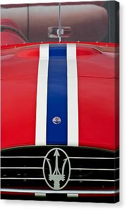 1956 Maserati 350 S Canvas Print by Jill Reger
