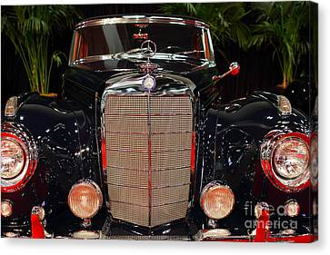 1956 Mercedes-benz 400 Sc . 7d9177 Canvas Print by Wingsdomain Art and Photography