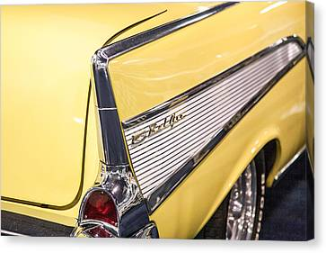 1957 Chevy Belair Canvas Print by Kathleen Nelson