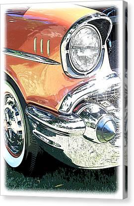 1957 Chevy Canvas Print by Steve McKinzie