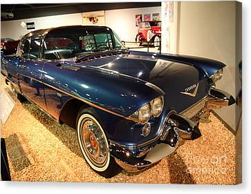 1958 Cadillac Eldorado Series 70 Brougham Canvas Print by Wingsdomain Art and Photography