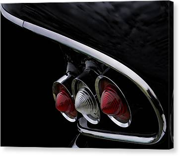 1958 Impala Tailfin Canvas Print by Douglas Pittman